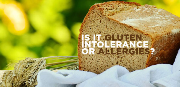 Is it Gluten Intolerance or Allergies?
